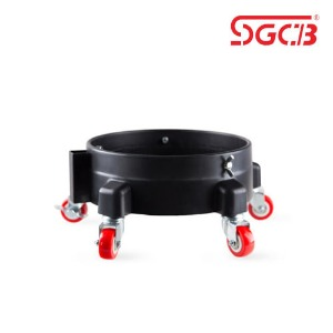 SGCB 디테일링 버킷돌리 Black New Bucket Dolly